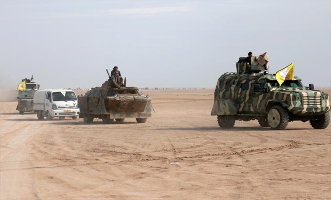 داعش يحاول استعادة السيطرة على مواقع شرق دير الزور من الميليشيات الكردية الإرهابية