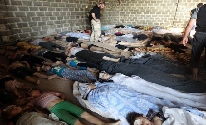 عصابات الأسد وحليفها الروسي يرتكبان مجازر جديدة في الغوطة الشرقية