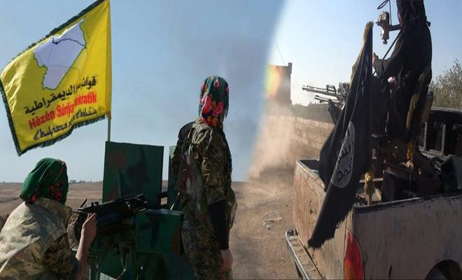 أسرى لميليشيات قسد إثر اشتباكات مع داعش شرق دير الزور