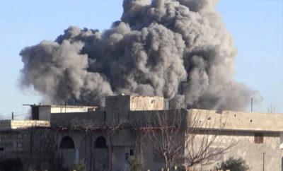قرى و بلدات ريف إدلب تحت قصف الغُزاة الروس مجدداً