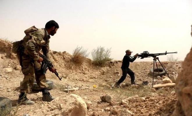 عصابات الأسد مابين قتيل وجريح بكمين لثوار الغوطة ببلدة الزريقية