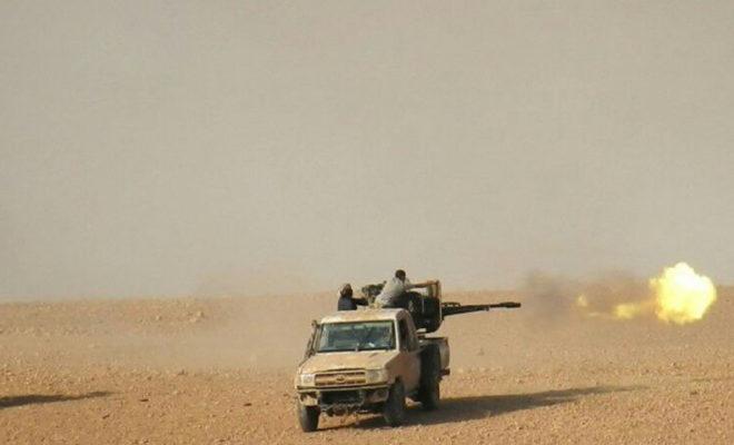 عصابات الأسد تسيطر على عشرات القرى بعد انسحاب تنظيم داعش منها شرق حماة