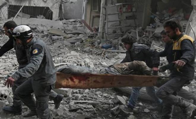 أمام مرأى المجتمع الدولي : الغوطة الشرقية قصف وموت ودمار