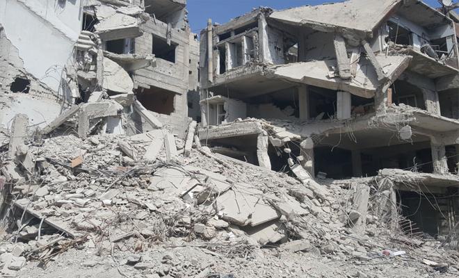 استمرار المجازر بحق المدنيين في الغوطة الشرقية