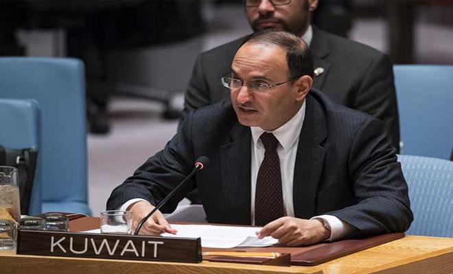الكويت تنتقد مجلس الأمن لعدم تطبيق قرار الهدنة ولو جزئياً