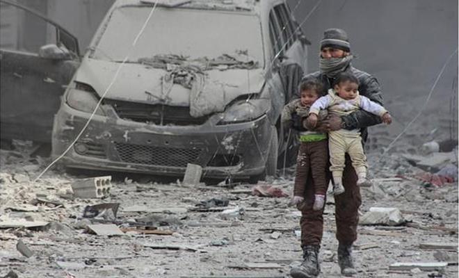 خلافات بين الغُزاة الروس و عصابات الأسد بشأن الغوطة