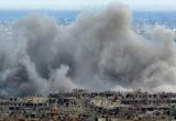بالرغم من الهدنة المزعومة ... مايزال القصف الجوي و المدفعي مستمر على بلدات الغوطة الشرقية