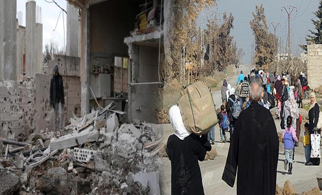 عصابات الأسد تكثف قصفها على درعا وسط حركة نزوح كبيرة