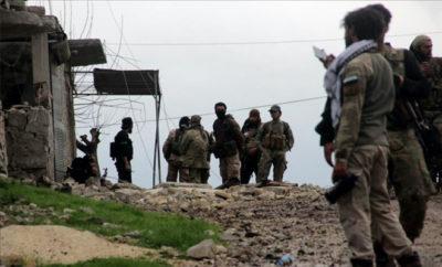 مقاتلي غصن الزيتون يسيطرون على السجن غرب مدينة عفرين