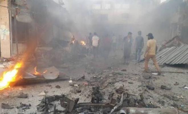 غارات للإجرام الأسدي على ريف اللاذقية وقتلى وجرحى بانفجار عبوة في إدلب