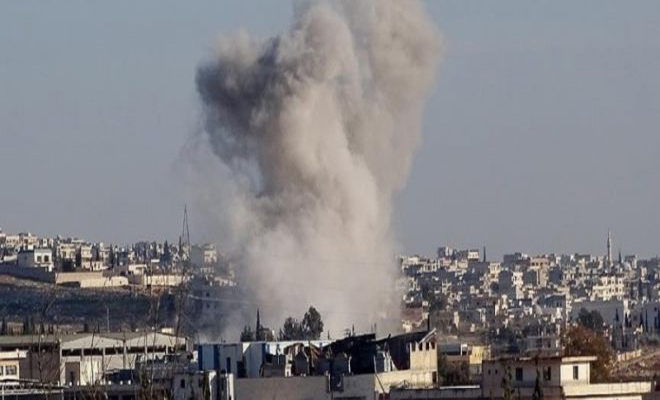 قصف عنيف و مستمر من قبل عصابات الأسد على ريف حمص الشمالي و الثوار يردون