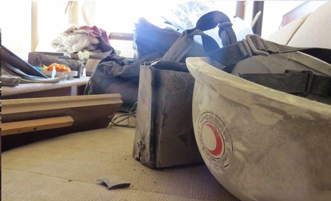 قصف عنيف من طيران الأسد والروس على دوما وخروج نقاط طبية و شعبة الهلال الأحمر عن الخدمة