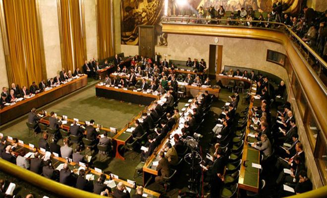 استنكار واحتجاج دولي على ترأس نظام الأسد لمؤتمر نزع السلاح