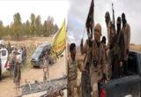 اشتباكات عنيفة بين داعش و الميليشيات الكردية الإرهابية وحركة نزوح كبيرة للمدنيين في ريف دير الزور الشرقي