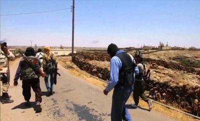 الجيش الحر يعلن إحباط محاولة تسلل لعناصر من داعش في ريف درعا