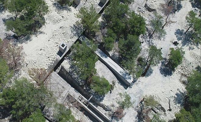 تركية تعلن العثور على معسكر قيد الإنشاء للميليشيات الكردية الإرهابية في عفرين