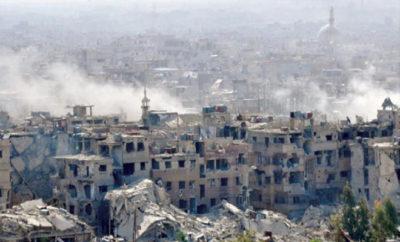 شهداء وجرحى نتيجة غارات طيران الإجرام الأسدي والغُزاة الروس على أحياء دمشق
