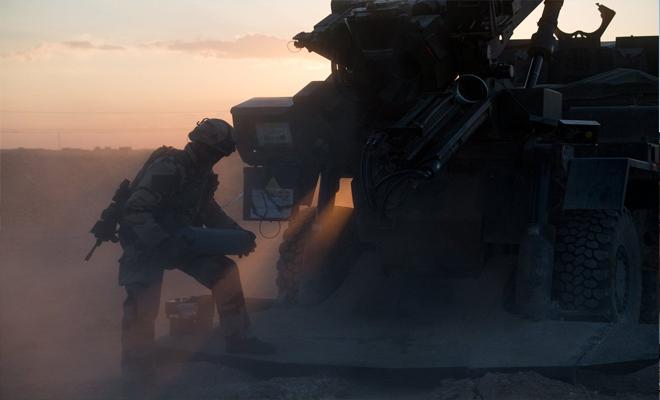 ضمن التحالف الدولي... القوات الفرنسية تقصف بالمدفعية الثقيلة مواقع لداعش شرق دير الزور