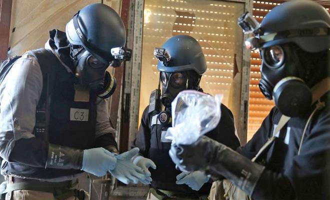 منظمة حظر الأسلحة الكيماوية : العينات التي جُمِعت تثبت وجود مواد كيميائية لم يعلن عنها نظام الأسد بعد