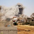 آلاف النازحين ومئات الجرحى و عشرات القتلى في درعا وسط صمت دولي