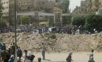 مخيم اليرموك... الإعدام رمياً بالرصاص لمن يعترض على تعفيش منزله من قبل عصابات الأسد
