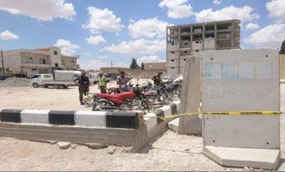 الشرطة الحرة تفكك دراجات مفخخة في مدينة جرابلس
