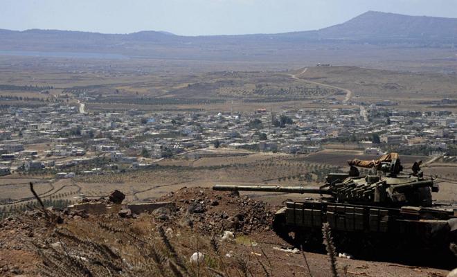 الميليشيات الإيرانية وحزب الله الإرهابي بزيّ عصابات الأسد بعدة مناطق بالجنوب السوري