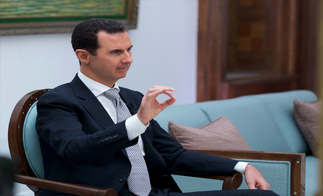 الأسد ... لاشيء يمنع إيران من إقامة قواعد عسكرية لأنها حليفة