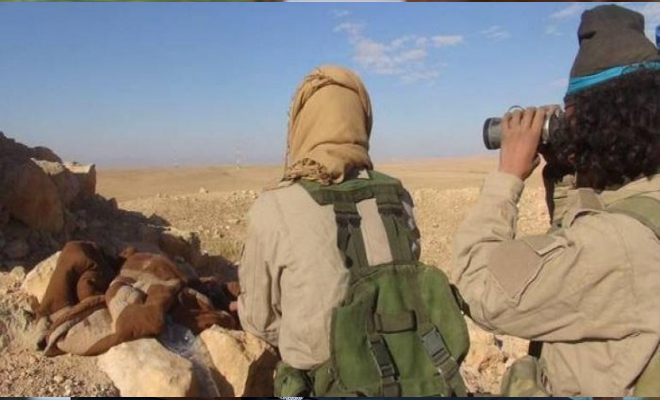 خسائر فادحة لعصابات الأسد باشتباكات عنيفة مع تنظيم داعش شرق السويداء