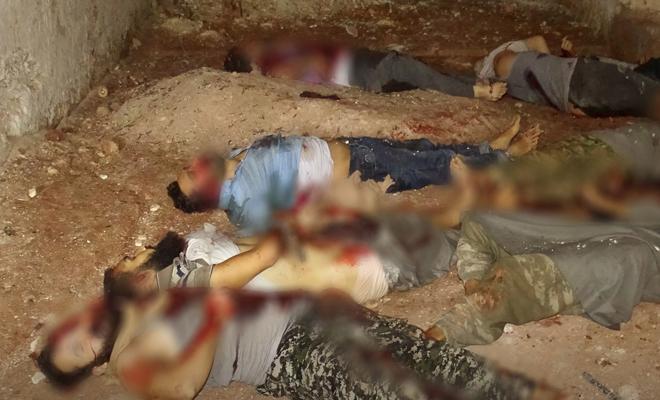 داعش يعدم عناصر من فصائل الحر وتحرير الشام تداهم مقراته