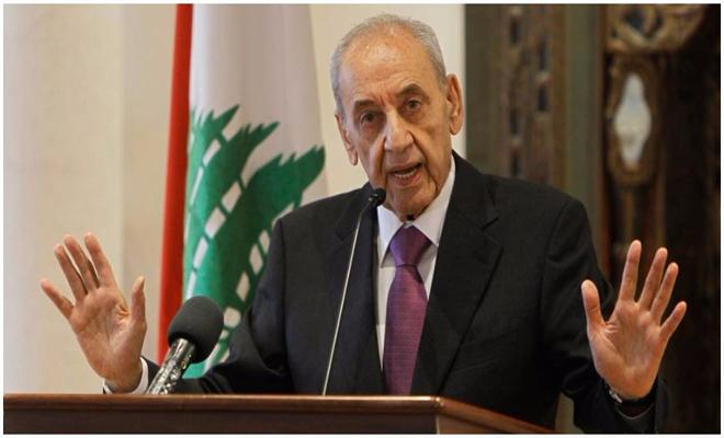 رئيس مجلس النواب اللبناني يرفض الدعوات بانسحاب ميليشيا حزب الله من سوريا ويدافع عنه