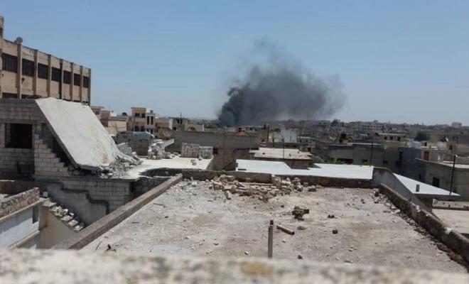 شهداء وجرحى بطائرات الإجرام الأسدي و الغُزاة الروس في ريف إدلب