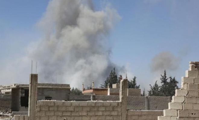 شهداء وجرحى بقصف من مدفعية عصابات الأسد في ريف حماة