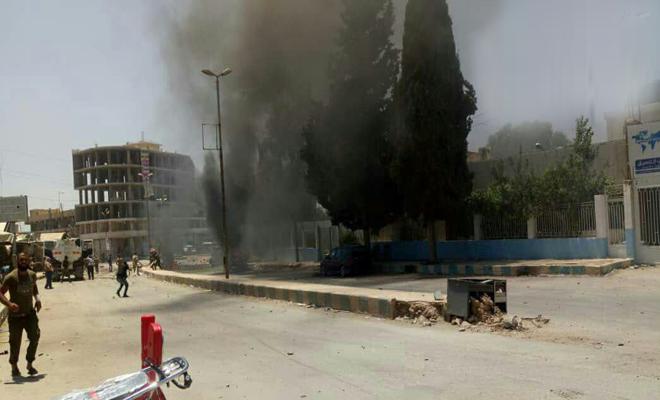 شهداء وجرحى بمدينة عفرين إثر عدة انفجارات تهز المدينة