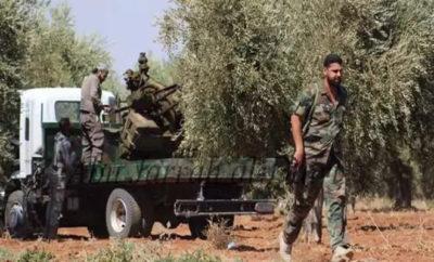 قتلى لعصابات الأسد إثر محاولة تقدم فاشلة على مناطق الثوار بريف إدلب