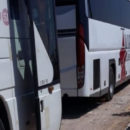 إنطلاق الدفعة الأولى من المهجرين قسرياً من درعا إلى إدلب
