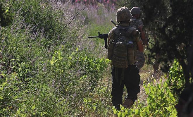 العثور على ذخائر ومتفجرات تابعة للميليشيات الكردية في عفرين أثناء عملية التطهير