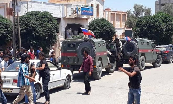 الغُزاة الروس يصلون طفس وضحايا مدنيين بقصف لداعش على حيط بريف درعا