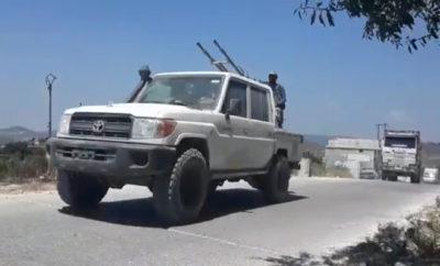 تعزيزات عسكرية تركية تصل إلى نقطة مراقبة صوامع الصرمان جنوب إدلب