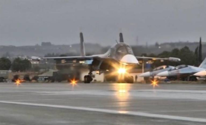 دفعة جديدة من طائرات الغُزاة الروس تغادر حميميم باتجاه روسيا