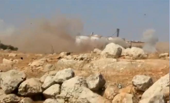 عصابات الأسد تقصف المدنيين بالمدفعية الثقيلة غربي حلب