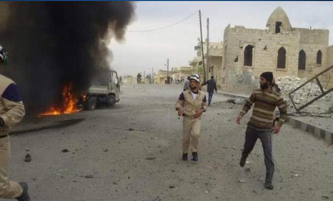 عودة الانفجارات والعبوات الناسفة لمدن وبلدات ريفي إدلب و حلب