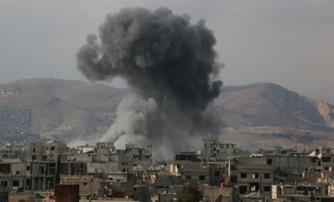 غارات لطيران الاحتلال الإسرائيلي على مستودعات أسلحة تابعة لعصابات الأسد والميليشيات الإيرانية في درعا