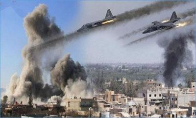 قتلى من داعش بقصف للتحالف الدولي على هجين بريف دير الزور الشرقي