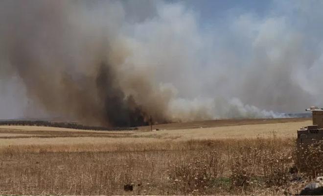 قصف من مدفعية عصابات الأسد يودي بحياة المزارعين في ريف حماة