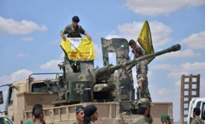 هجين تحت سيطرة ميليشيا قسد وداعش يوقع قتلى لعصابات الأسد في البادية الشامية