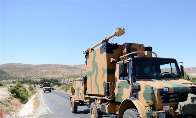 الجيش التركي يرسل تعزيزات لدعم قواته في سوريا