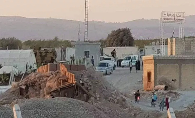 حملة اعتقالات ومداهمات في مخيم دير بلوط شمالي حلب