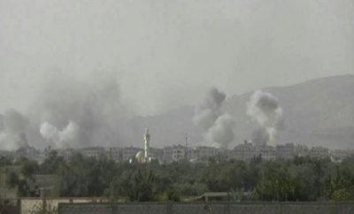 طيران الإجرام الأسدي ينفذ عدة غارات على المناطق المحررة انتقاماً لعرابي المصالحة