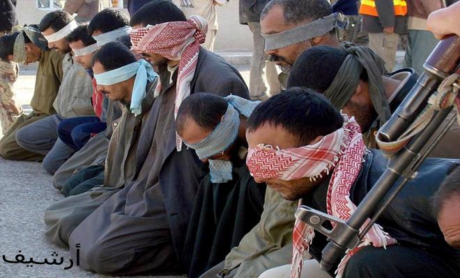 عصابات الأسد الإرهابية تعتقل مدنيين بريف دير الزور الشرقي